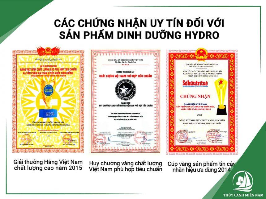 san-pham-dinh-duong-Hydro-do-Thuy-Canh-Mien-Nam-phan-phoi-dat-nhieu-chung-nhan-uy-tin